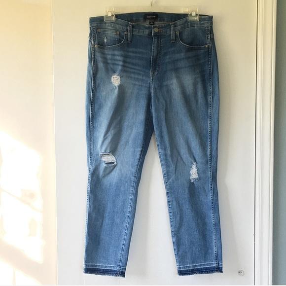 J. Crew Denim - J Crew Vintage Straight Eco Distressed Jeans